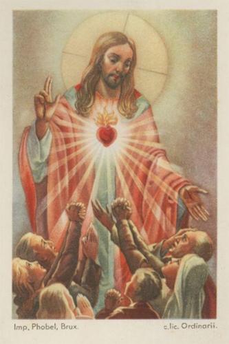 coeur,Jésus,ardeur,connaître,adorer,servir,aimer,gloire,sacrifice,calvaire,croix,zèle,feu,dévouement