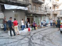 AED,Syrie,Mgr Jeanbart,célébration,Noël,bombes