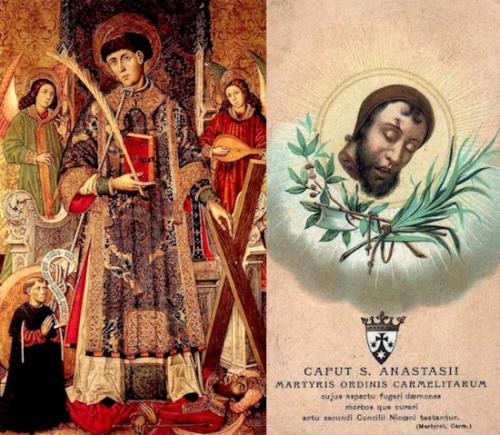 Sts Vincent,Anastase,martyrs
