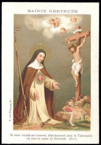 Sainte,Gertrude la Grande,religieuse,bénédictine,Helfta,Marguerite,reine,Ecosse