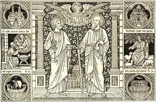 fête,pierre,paul,apôtres,évangélistes,evangile,grâce,seigneur,sauveur