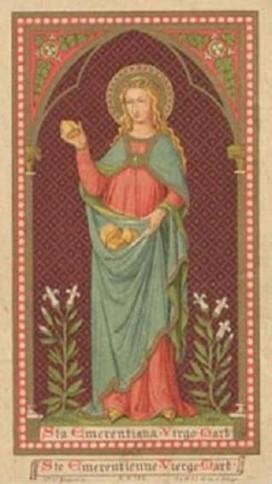 St Raymond de Pennafort,religieux,Ste Emerentienne,vierge,martyre