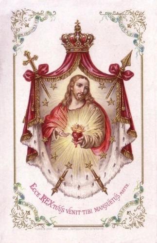 Mgr Amette,Abbé Coubé,Royauté,roi,royaume,Christ,Jésus,coeur,amour