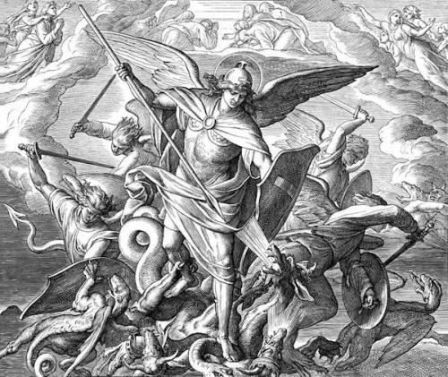 Prière,St Michel,archange,exorcisme,Léon XIII,Jean-Paul II