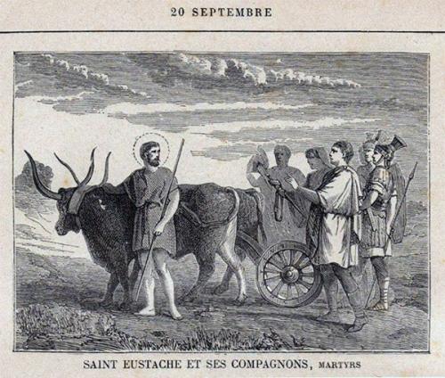 mercredi,quatre-temps,septembre,st eustache,compagnons,martyrs