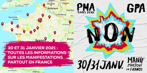 manif pour tous,pma,30 janvier,31 janvier,2021