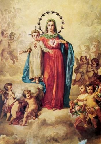 Bse Dina Bélanger,Marie Sainte-Cécile,Rome,prière,coeur,Vierge,Notre-Dame,reine,Coeur Eucharistique,hommage,amour