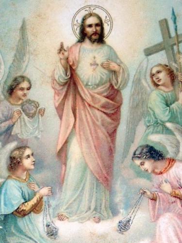 P. Gustave Villefranche,1er Vendredi du mois,Sacré-Coeur,Acte,désir,amour,guérison,Coeur de Jésus,grâces,adoration,Majesté,bienfaits