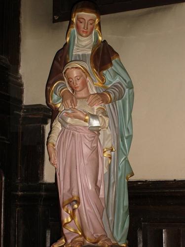 Sainte Anne,mère,Vierge Marie,poésie,prière,voeu,Bretagne,Ste Anne d'Auray