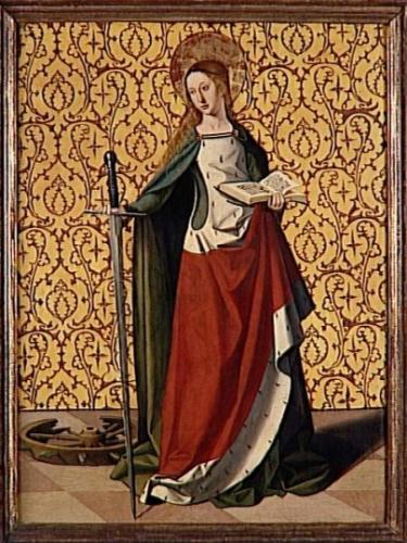 Ste Catherine,Alexandrie,vierge,martyre