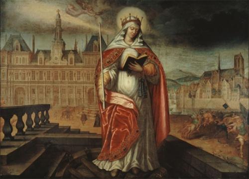Ste Geneviève,vierge,Paris,Calendrier liturgique,sanctoral