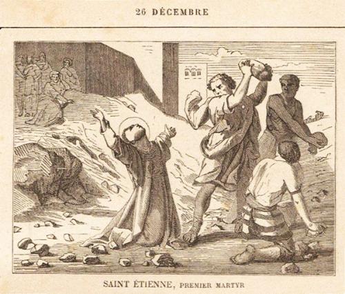 Bourdaloue,sermon,St Etienne,diacre,premier,martyr,protomartyr