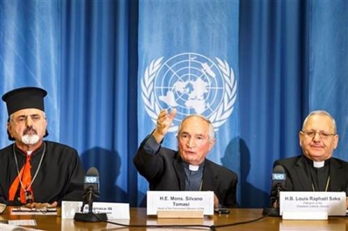 Mgr Tomasi,Nations-Unies,ONU,déclaration,rapport,liberté d'expression,droit d'offenser