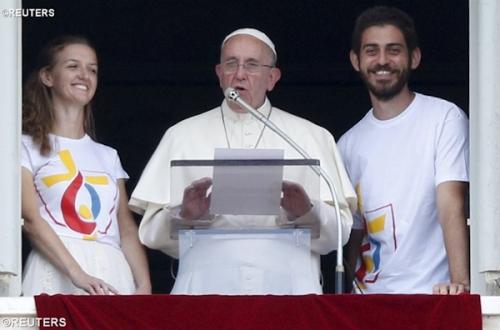 voyage,pape,François,Cracovie,Pologne,JMJ,juillet 2016