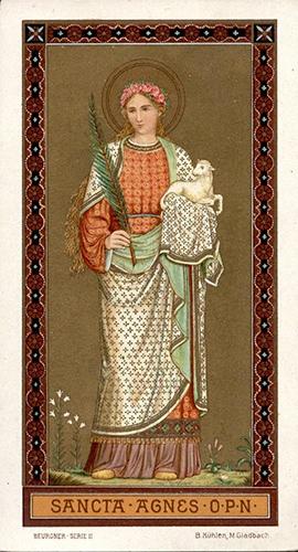 Ste Agnès,vierge,martyre