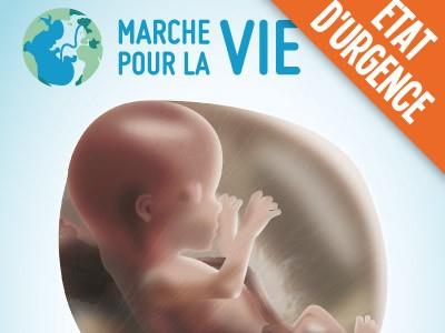 marche pour la vie,2016,annulation,tracts,affiches