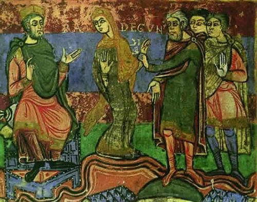 Mémoire des Sts Hippolyte et Cassien,martyrs,Notre-Dame,Refuge des pécheurs,Ste Radegonde,reine,France
