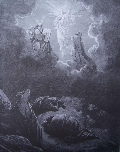 St Augustin,transfiguration,Jésus,Christ,Moise,Elie,Loi,prophètes,Pierre,Jacques,Jean,apôtres,