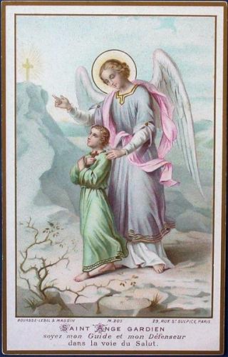 prière,ange,ange gardien