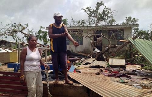 Vanuatu,habitations,capitale,endommagées,cyclone,état d'urgence,victimes