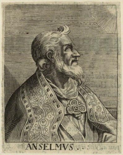 St Anselme,évêque,docteur de l'Eglise,Cantorbery,George Glover
