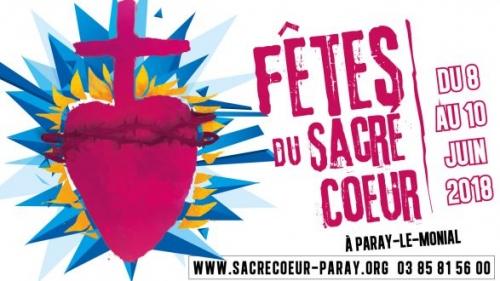 Paray-le-Monial,Fêtes,Sacré-Coeur,juin 2018