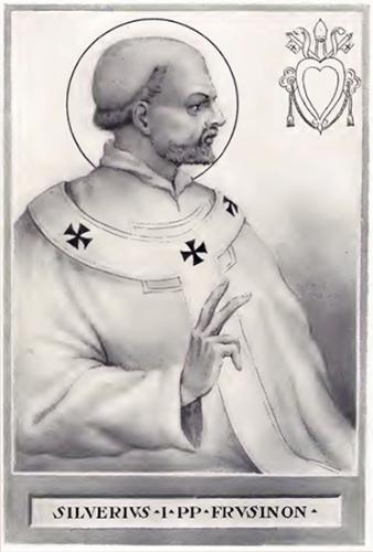Mémoire,St Silvère,pape,martyr