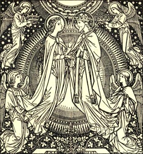 Assomption, Odilon de Mercoeur,Vierge,Marie,Reine,Christ,joie,allégresse