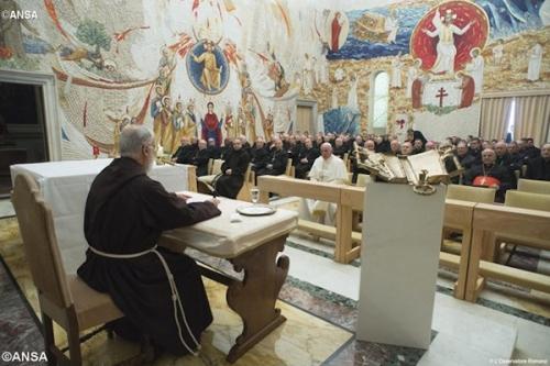 prédication,méditation,carême,vatican,raniero cantalamessa,prédicateur,maison pontificale