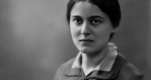 Thérèse-Bénédicte de la Croix,Edith Stein,prière,souffrance,solitude,misère,malade,soulagement,oubli,détresse,tristesse