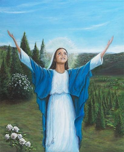 Paul Aymard,cantique,Marie,magnificat,action de grâce,allégresse,coeur,pauvre,libre