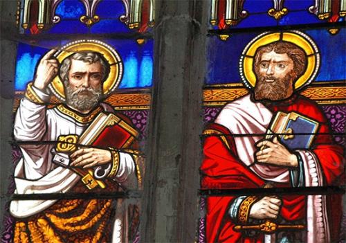 Dédicace,Basiliques,Saint-Pierre,Saint-Paul,apôtres