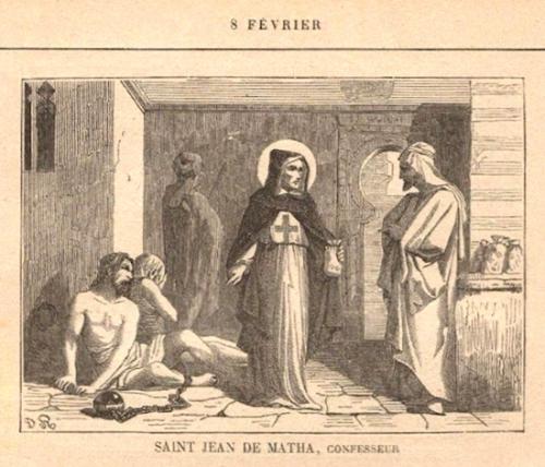 St Jean de Matha,religieux,